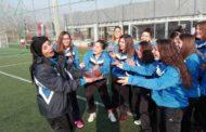 Τούρτα έκπληξη από τις παίκτριες της Μεικτής Θράκης στην προπονήτρια τους Ευαγγελία Βαλασούδη!