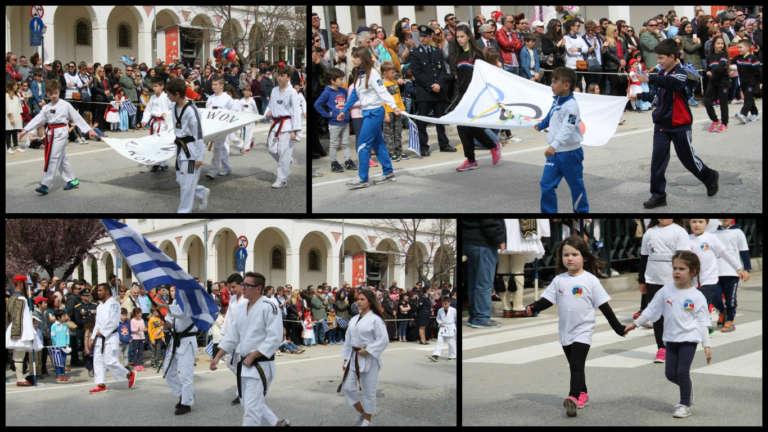 Photos:Με έντονη αθλητική παρουσία η μεγάλη παρέλαση για την 25η Μαρτίου στην Κομοτηνή!