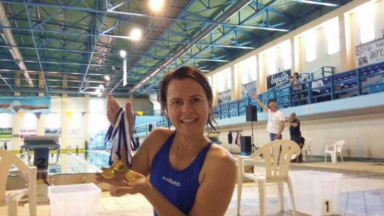 Με 3 χρυσά μετάλλια επέστρεψε από τους 8ους Πτολεμαϊκούς Αγώνες Κολύμβησης η Σιδερούδη του ΝΟΑ!