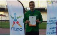 Δύο μετάλλια για το Νίκο Παπαδόπουλου του Κότινου στο ντεμπούτο του σε Πανελλήνιο Πρωτάθλημα!