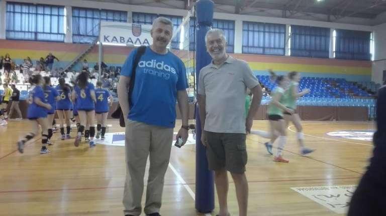 Στο Πανελλήνιο Κορασίδων ο Ομοσπονδιακός Ανέστης Γιαννακόπουλος και ο πρόεδρος της ΕΣΠΕΘΡ Ειρήναρχος Κεμανετζής