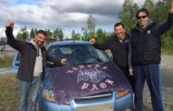 Οι τρεις Ξανθιώτες που έκαναν 8,000 χιλιόμετρα με το αυτοκίνητο για να δουν το Έστερσουντ-ΠΑΟΚ!