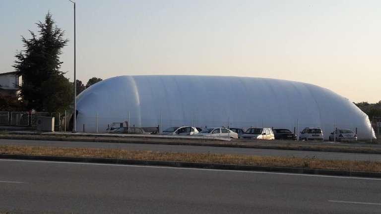 Έτοιμο το γήπεδο…μπαλόνι της σχολής ποδοσφαίρου του Ολυμπιακού Κομοτηνής Fairplay!