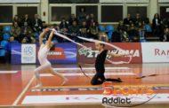 Ευχάριστη νότα στο ματς του Εθνικού με την Κηφισιά τα κορίτσια της ρυθμικής γυμναστικής! (photos & video)