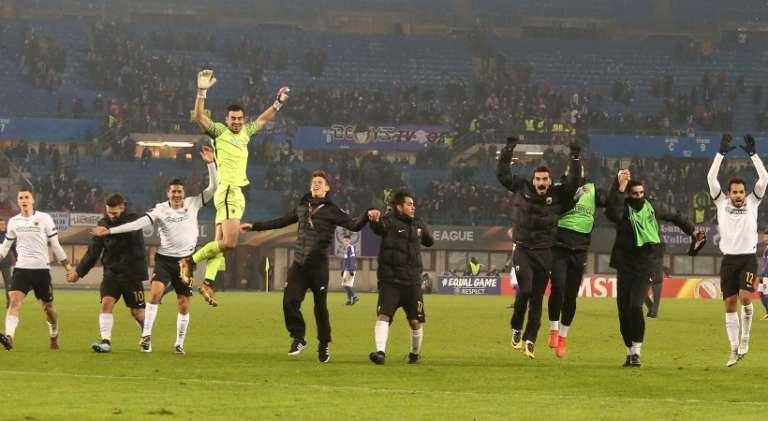 Όρθια και στην Βιέννη η ΑΕΚ που πήρε πανηγυρική πρόκριση στους «32» του Europa League!