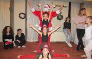 Εντυπωσίασαν στην χριστουγεννιάτικη γιορτή τους οι μικρές αθλήτριες Ρυθμικής Γυμναστικής του Εθνικού