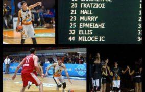 Photos: Ονειρικό ντεμπούτο του Δημήτρη Ερμείδη στην Α1 απέναντι σε Σπανούλη και Ολυμπιακό σε κατάμεστο γήπεδο!