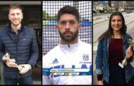 Βραβεύθηκαν από την ΕΑΣ ΣΕΓΑΣ Ανατ. Μακεδονίας & Θράκης οι Δουλγέρης, Θανόπουλος & Μπαχάρ του ΠΑΣ Πρωταθλητών Κομοτηνής