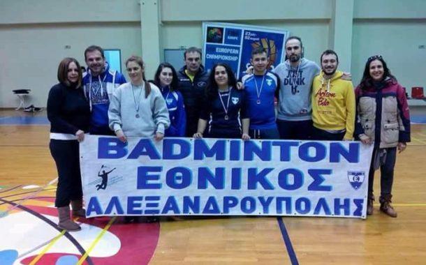 Στην Α1 κατηγορία το badminton του Εθνικού Αλεξανδρούπολης!