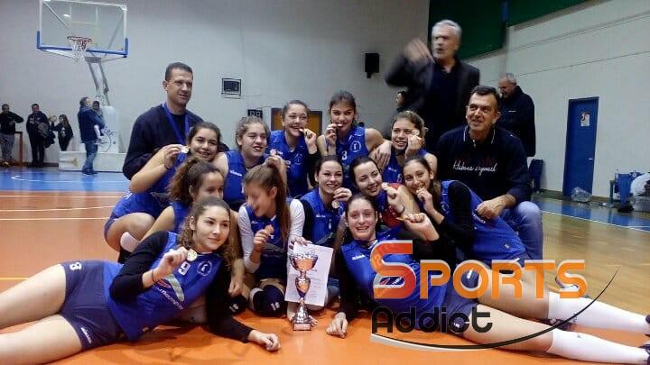 Πρωταθλήτριες Θράκης & Ανατ. Μακεδονίας οι Νεάνιδες της Νίκης Αλεξανδρούπολης!