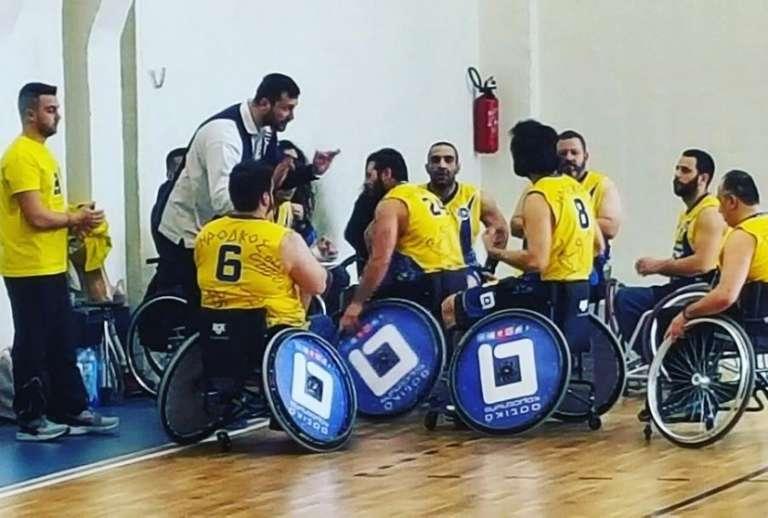 Τα αποτελέσματα και η βαθμολογία στον όμιλο του Ηρόδικου Κομοτηνής στο πρωτάθλημα μπάσκετ με αμαξίδιο!