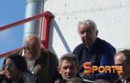 Παρακολούθησε το ματς της ΑΕΔ στην Ξάνθη ο Χρήστος Καραβασίλης