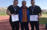 Εντυπωσιακή παρουσία με δύο μετάλλια και  ατομικά ρεκόρ για τον Διομήδη Ξάνθης στο Χειμερινό Κύπελλο Ρίψεων!