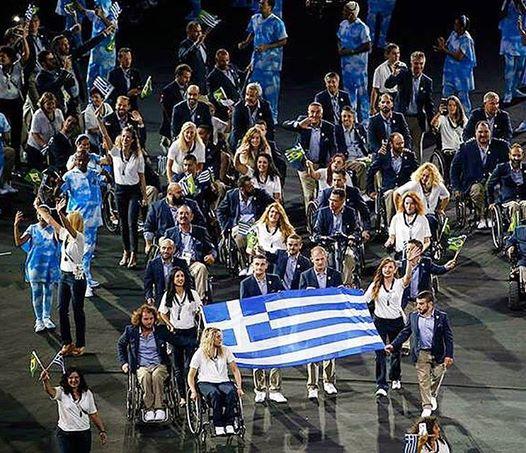 Παραολυμπιακοί Ρίο 2016: Η είσοδος της ελληνικής αποστολής, με παραστάτη τον Μιχαλεντζάκη!