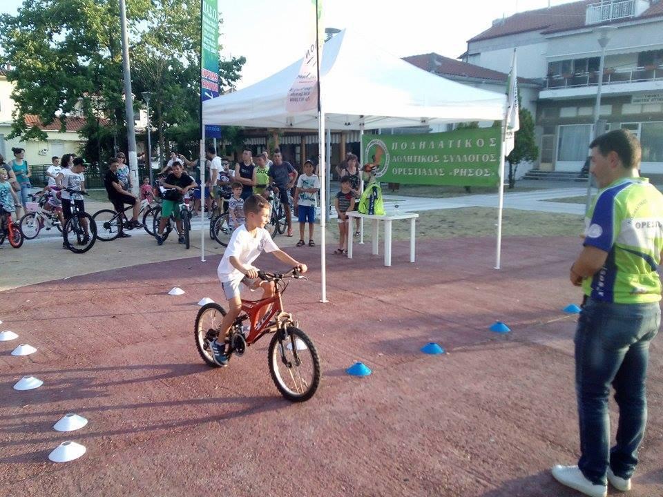 Συνεργασία Δήμου Ορεστιάδας και Ρήσου με την δράση με δωρεάν εκμάθηση ποδηλάτου!