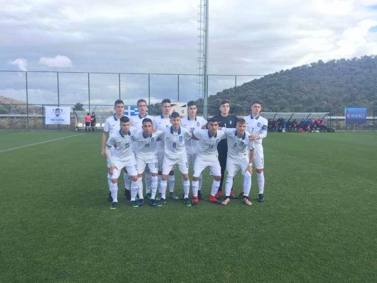 Βασικός ο Θυμιάνης στη νικηφόρα πρεμιέρα της Εθνικής Παίδων στο Aegean Cup της Τουρκίας
