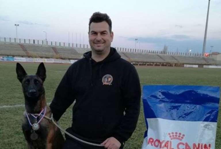 Απο την Κομοτηνή ο πρωταθλητής Ελλάδας στο πρωτάθλημα Agility για Βελγικά ποιμενικά