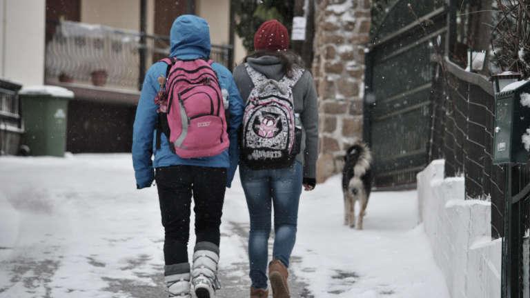 Κλειστά τα σχολεία της Ξάνθης και την Τρίτη λόγω χιονιά!