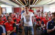 Στο τεχνικό τιμ της ομάδας Νέων του Ολυμπιακού των Ξενιτίδη και Γιανναράκη ο Ιμπαγάσα!