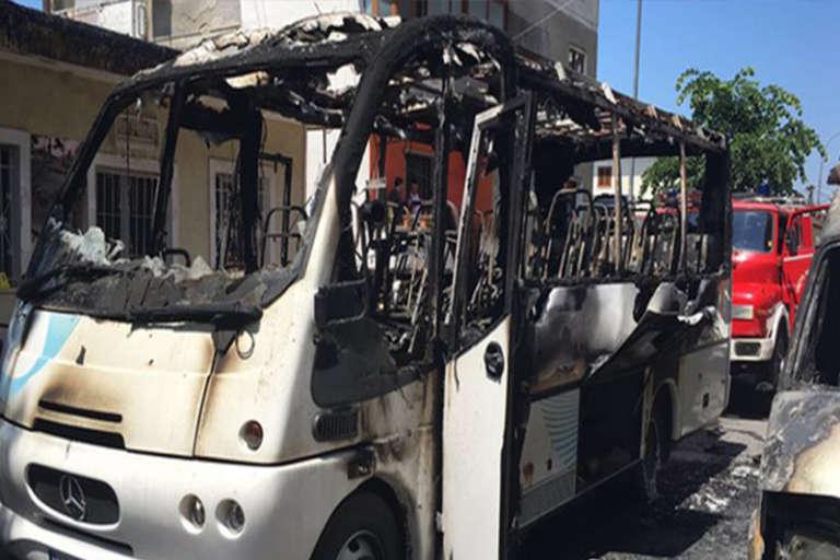 Απίστευτο, έκαψαν το λεωφορείο του Ορφέα Ξάνθης! Βανδαλισμοί και κλοπές στο γήπεδο του ΑΟΞ!!!