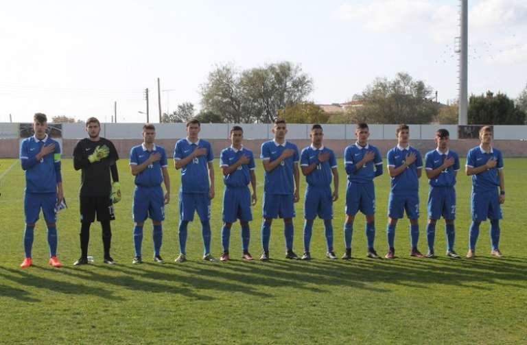 Βασικός ο Μελιόπουλος στην φιλική ισοπαλία της Εθνικής Παίδων με την Κύπρο!