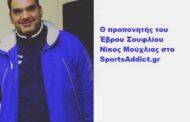 Νίκος Μούχλιας: «Ο Ερμογένης το φαβορί στο κυριακάτικο ματς, αλλά είμαστε αισιόδοξοι»
