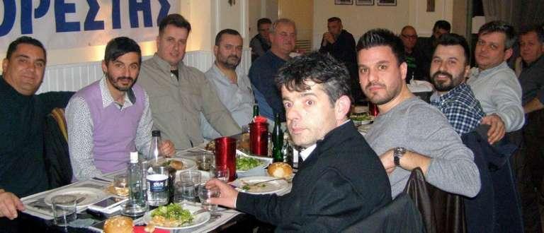 Έκοψε την πίτα του ο Ορέστης Ορεστιάδας παρουσία του δημάρχου της πόλης Βασίλη Μαυρίδη (photos)