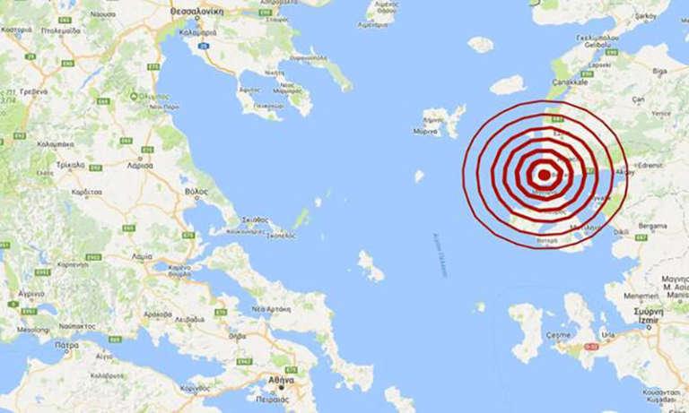 «Κουνήθηκε» και ο Έβρος από σεισμό που έγινε βορειοδυτικά της Λέσβου!