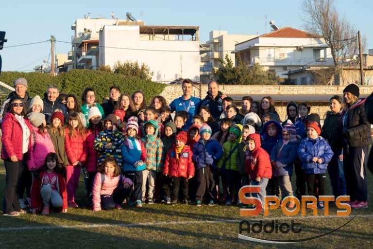 Αποθεώθηκε από μικρούς και μεγάλους στην Αλεξανδρούπολη ο Γιώργος Σιταρίδης! (photos)