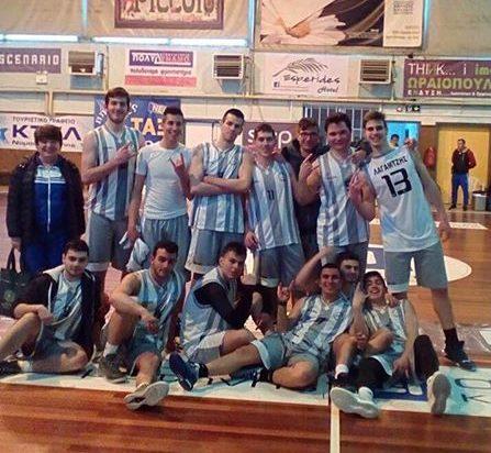 Τα συγχαρητήρια και οι ευχές της ΑΕ Κομοτηνής στο 2ο ΓΕΛ Κομοτηνής που συνεχίζει στο Σχολικό του μπάσκετ