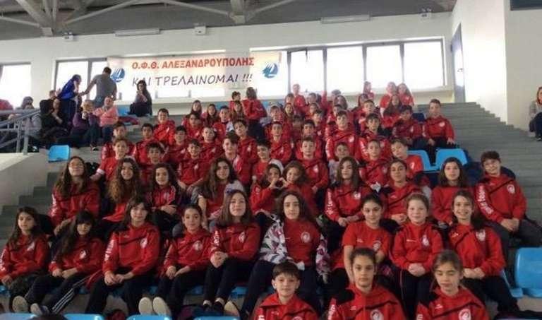 Με 77 μετάλλια και πολλές διακρίσεις ολοκλήρωσαν τους Χειμερινούς Αγώνες της ΑΜ-Θ οι αθλητές του ΟΦΘΑ!