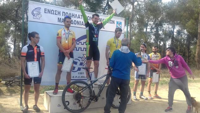 Πρωτιά για τον Χαρούν Μολλά και τον Θράκα Ιππέα στο Πρωτάθλημα Ορεινής Ποδηλασίας της ΕΠΣΜΑΘ!