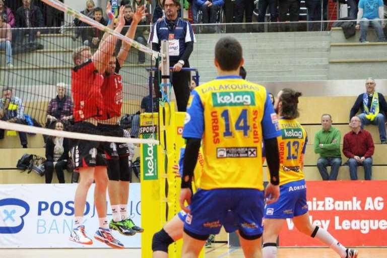 Εξαιρετικός Ανέστης Δαλακούρας, ήττα όμως για την ομάδα του, στον πρώτο τελικό του πρωταθλήματος Αυστρίας!