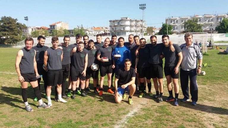 Γιόρτασαν στην προπόνηση τα γενέθλια τους οι Γιαννόπουλος & Κοτζά της ΑΕΔ! (video)