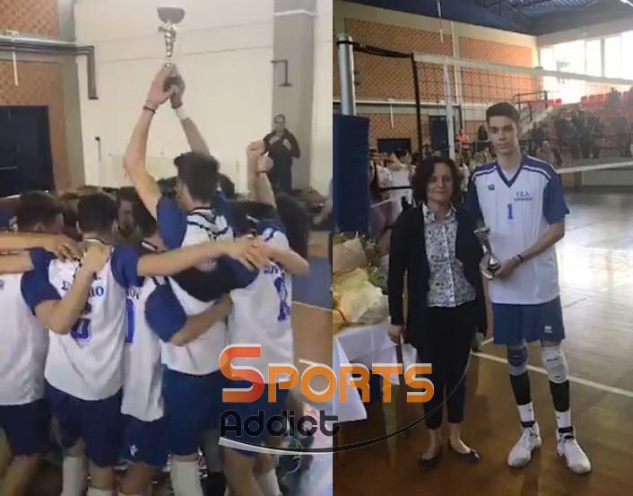 Επιστρέφει με την κούπα το Σουφλί! Πρωταθλητές Ελλάδας οι Εβρίτες και MVP ο Μούχλιας!