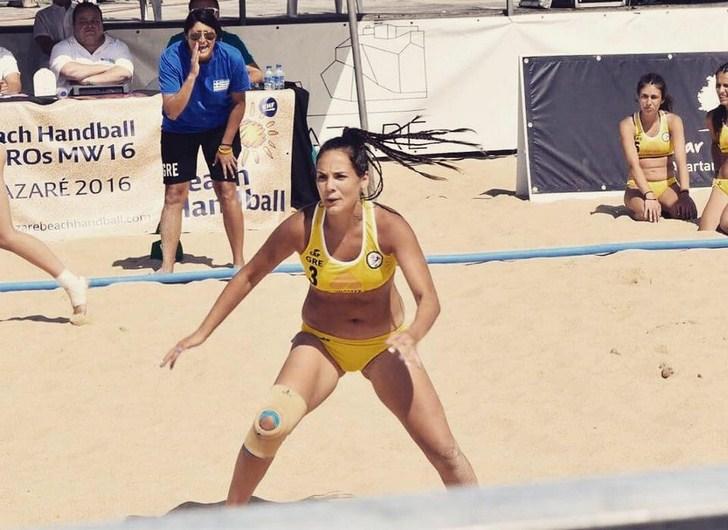 Στην Προεθνική Beach Handball η Νικολίνα Κεπεσίδου των Κυκλώπων Αλεξ/πολης!