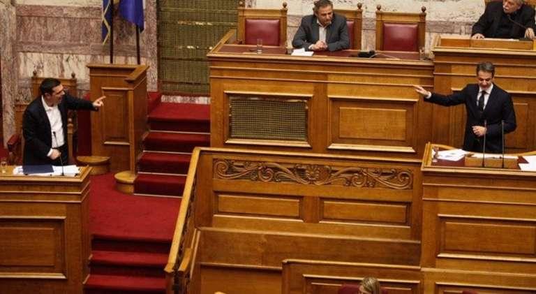 Ο Μητσοτάκης κατέθεσε πρόταση μομφής κατά της κυβέρνησης!