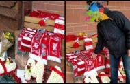 """Φόρος τιμής στα θύματα του """"Χίλσμπορο"""" από τους φίλους του ΑΟΞ! Το κασκόλ των Xanthifans ανάμεσα σε αυτά των Reds"""