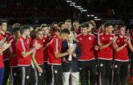 Αποθέωση για Ξενιτίδη, Γιανναράκη και τους υπόλοιπους πρωταθλητές Νέους στην φιέστα του Ολυμπιακού!