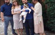 Με έντονο αθλητικό χρώμα η βάφτιση της κόρης του αρχηγού της Ασπίδας Ν. Καζαντζίδη