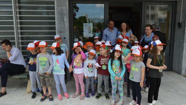 Τα «παράπονα» των μαθητών του 9ου Νηπιαγωγείου άκουσε ο Δήμαρχος Κομοτηνής