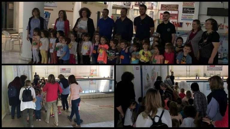 Εκπαιδευτική ενημέρωση σε παιδικούς σταθμούς της Ορεστιάδας από το Νηρέα