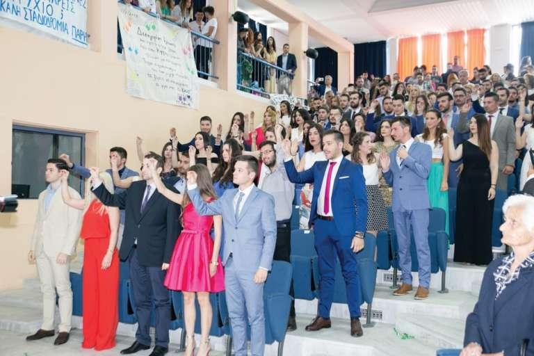 Διπλή ορκωμοσία στη Νομική Σχολή του ΔΠΘ! 148 Νέοι αποχαιρετούν την Κομοτηνή(+photos)