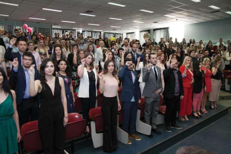 77 νέοι απόφοιτοι απο το ΔΠΘ ορκίστηκαν απο τα τμήματα Ιστορίας και Εθνολογίας,  Φιλολογίας και Πολιτισμού(+Photos)