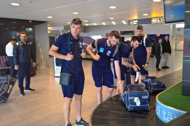 «Πάτησε» Εσθονία και έκανε την πρώτη της προπόνηση η Εθνική Ελλάδας των 6 Εβριτών