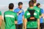 Αποχαιρέτισε παίκτες και συνεργάτες στο Κορωπί ο Ουζουνίδης