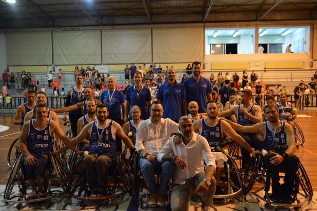Με πλήρη αποστολή στην Κομοτηνή η Εθνική ομάδα μπάσκετ με αμαξίδιο για το 2ο διεθνές τουρνουά