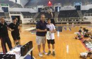 Σε μπασκετικό κάμπ του ΠΑΟΚ με πρωτιά ο Μαρίνος Μίχος του Εθνικού Αλεξανδρούπολης!