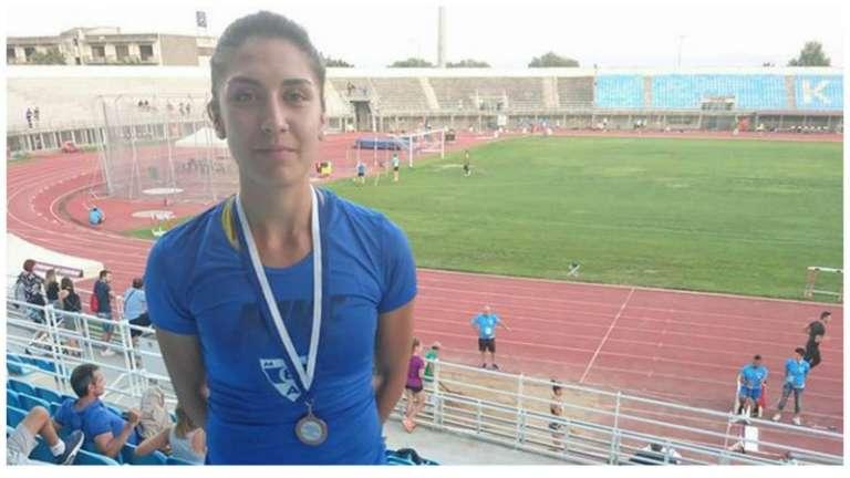 Υποψήφια αθλήτρια της χρονιάς: Σπυριδούλα Ναζίρη