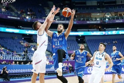 Πρεμιέρα με το δεξί για την Εθνική Ελλάδας στο Ευρωμπάσκετ με άνετη νίκη επί της Ισλανδίας!